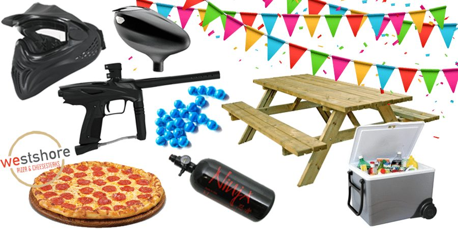 Paintball Party Items