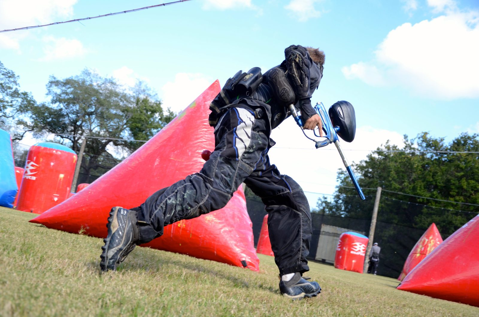 Tampa Paintball Field Party
