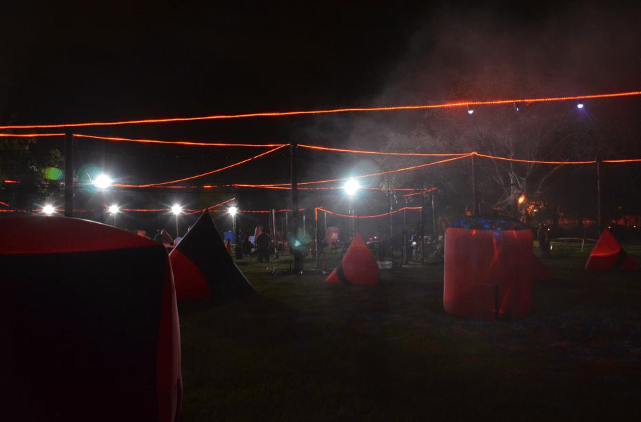 Paintball Halloween Night